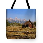 Chapel Of The Transfiguration Tote Bag