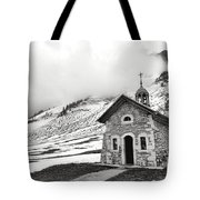 Chapelle Des Aravis Tote Bag