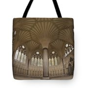Chapter House, Wells Cathedral, Somerset Uk Tote Bag