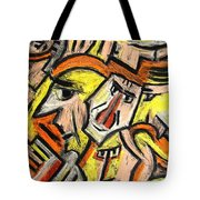 Characters By Rafi Talby Tote Bag