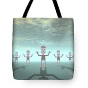 Characters Made Of Stone Tote Bag