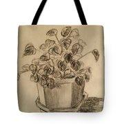 Charcoal Planter Tote Bag