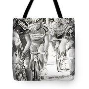 Charcoal Racers Tote Bag
