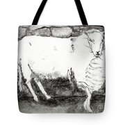 Charcoal Sheep Tote Bag