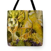 Chardonnay At The Vineyard Tote Bag
