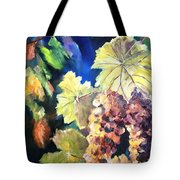 Chardonnay Vines Tote Bag