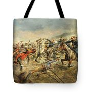 Charge Of The Seventh Cavalry Tote Bag