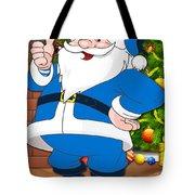 Chargers Santa Claus Tote Bag