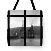 Charging Dock Of Barcelona Tote Bag