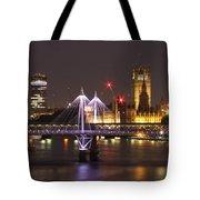 Charing Cross Bridge Tote Bag