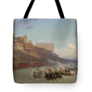 Chariot Race Tote Bag