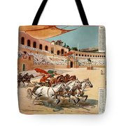 Chariot Races To Byzantium Tote Bag