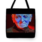 Charles Aznavour Tote Bag