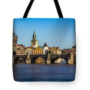 Charles Bridge Tote Bag