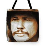 Charles Bronson, Hollywood Legend Tote Bag