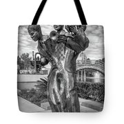 Charles Buddy Bolden - New Orleans - Bw Tote Bag