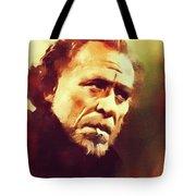 Charles Bukowski, Literary Legend Tote Bag