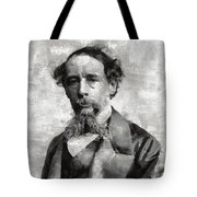 Charles Dickens Author Tote Bag