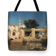 Charles Emile De Tournemine Tote Bag by Cafe in Adalia