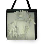 Charles Hall - Creative Arts Program -spirits Of The Plains Tote Bag