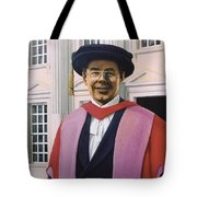 Charles Harpum Receiving Doctorate Of Law Tote Bag