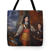 Charles II - King Of Scots And King Of England Tote Bag