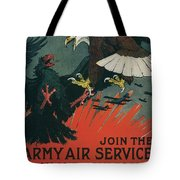 Join The Army Air Service Tote Bag