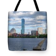 Charles River Boston Ma Crossing The Charles Tote Bag