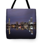 Charles River Clear Water Reflection Tote Bag