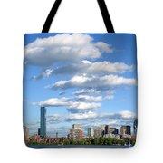 Charles River Cloud Stack Boston Ma Tote Bag