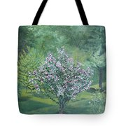 Charles Street Tote Bag by Leah  Tomaino