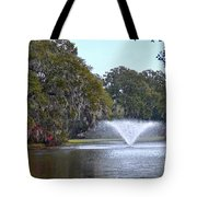 Charles Towne Landing Fountain Tote Bag