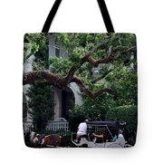 Charleston Buggy Ride Tote Bag by Skip Willits