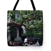 Charleston Buggy Ride Tote Bag