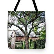 Charleston Church Street Live Oak And Ivy Tote Bag