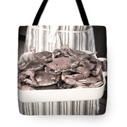 Charleston Crab Boil Tote Bag