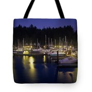 Charleston Docks Tote Bag
