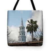 Charleston Historic Church Bell Tower Tote Bag