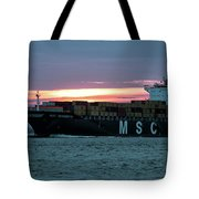 Charleston Port Tote Bag