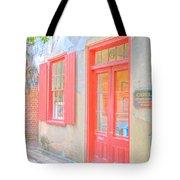 Charleston Sc Catfish Row Tote Bag