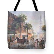 Charleston Somewhere In Time Tote Bag