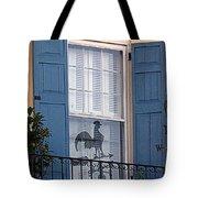 Charleston Weathervane Reflection Tote Bag