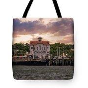 Charleston Wharf Tote Bag