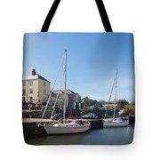 Charlestown Harbour Cornwall Tote Bag
