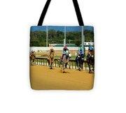 Charlestown Races Tote Bag