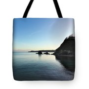 Charlestown Sunset West Tote Bag
