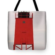 Charlevoix South Pier Lighthouse Tote Bag