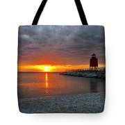 Charlevoix Sunset Tote Bag