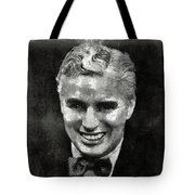 Charlie Chaplin Hollywood Legend Tote Bag
