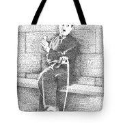 Charlie Chaplin In His Own Words Tote Bag